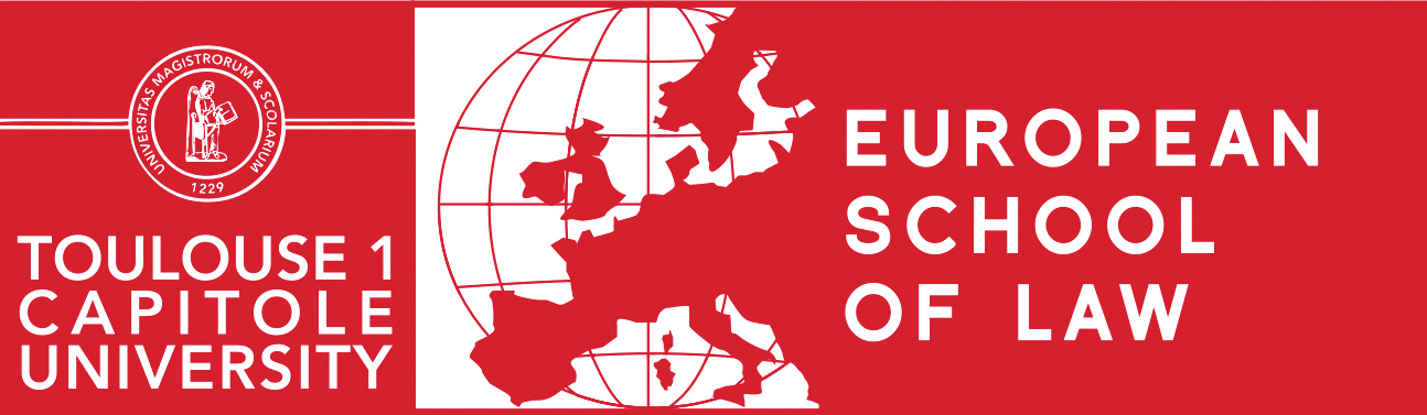 Logo Ecole Européenne de Droit, European School of Law (ESL)