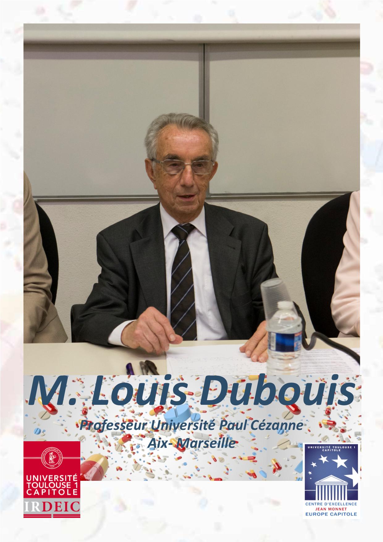 M LOUIS DUBOUIS Crédits photos G Fraysse